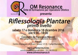 riflessologia plantare firenze om resonance