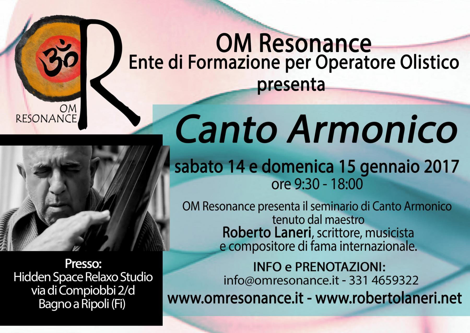 canto armonico om resonance