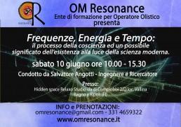 frequenze energia tempo fisica quantistica