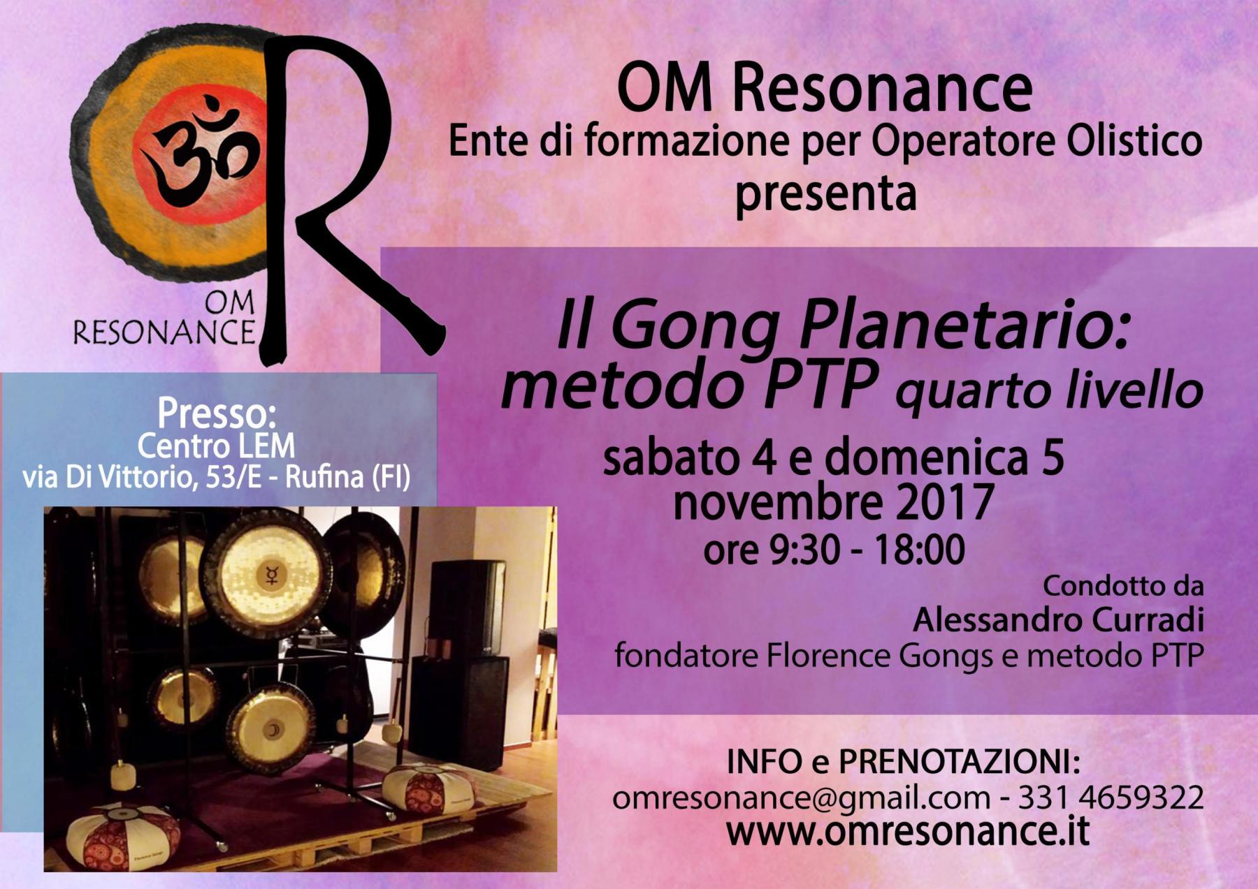 Firenze gong 4 novembre 2017