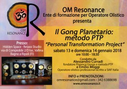 Firenze gong planetario 1 sabato 13 e domenica 14 gennaio 18