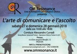 Padova l'arte di comunicare e l'ascolto