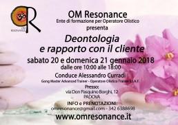 Padova deontologia e rapporto con il cliente