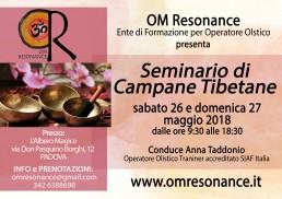 OM Resonance campane tibetane Anna Taddonio