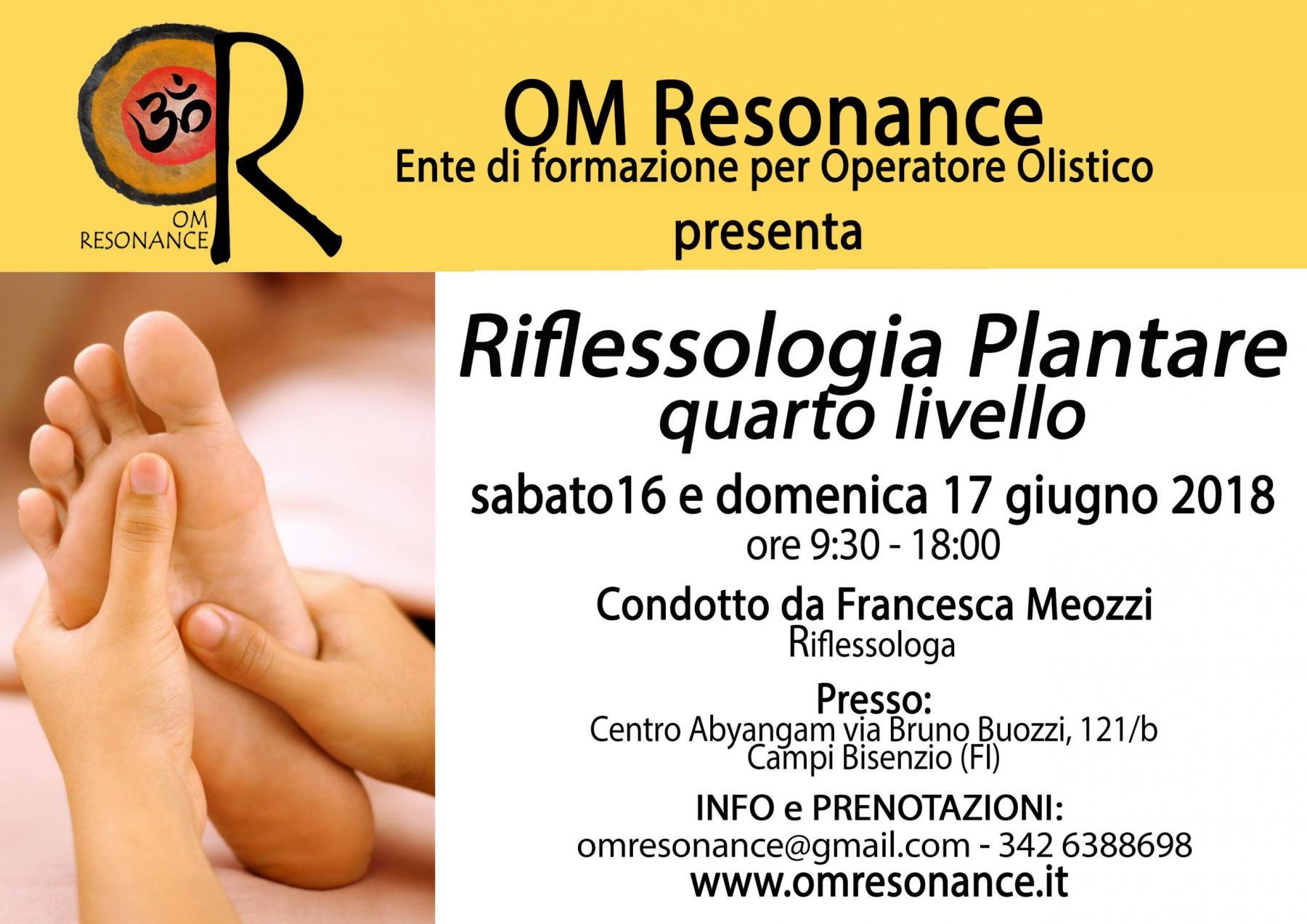 Riflessologia Plantare Firenze OM Resonance