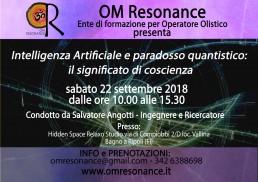 Il significato di coscienza OM Resonance Firenze
