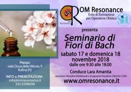 Fiori di Bach Lara Amantia OM Resonance Firenze