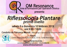 riflessologia plantare 1 francesca meozzi firenze om resonance