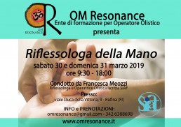 Riflessologia della mano m Resonance Firenze